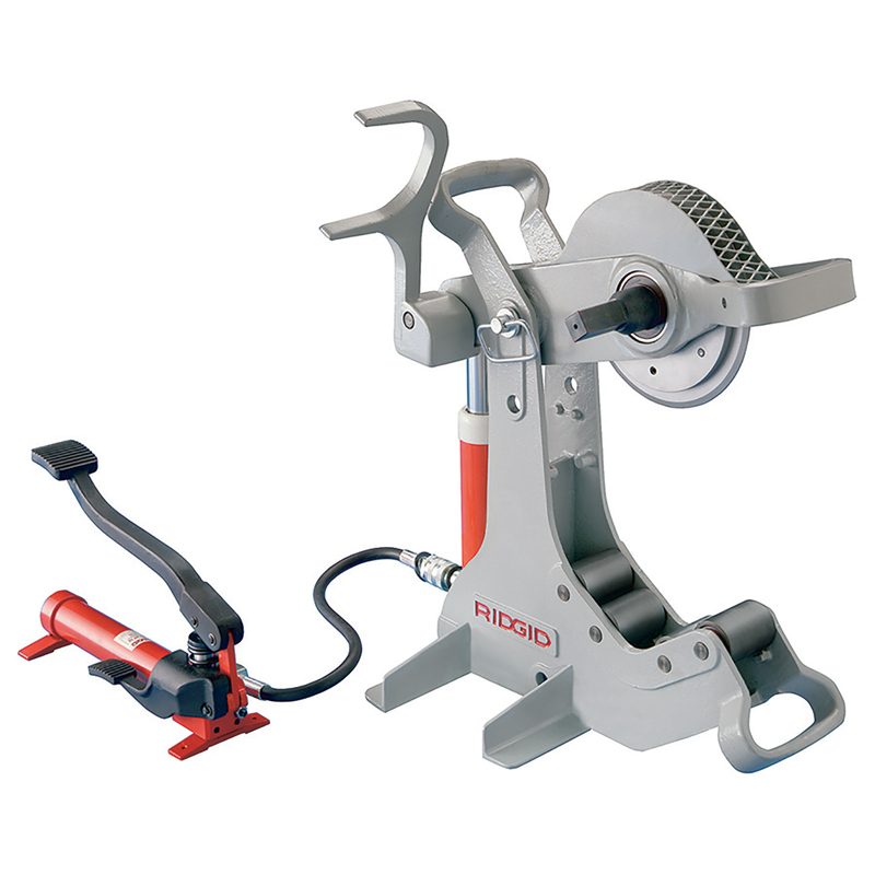 Hydraulic Pipe Cutters : Ridgid hydraulic pipe cutter mep hire