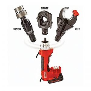 MEP Hire Ridgid RE60 Cable Crimp and Cutter