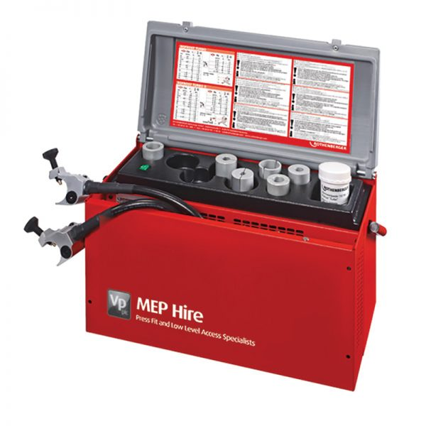 MEP Hire Pipe Freeze Kit Electric standard 110V 15 to 42mm