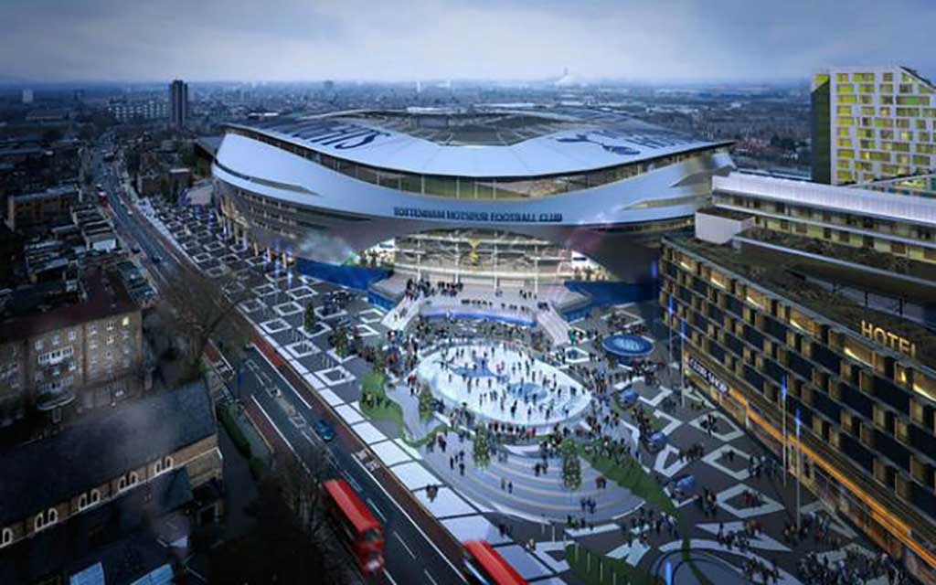 New Spurs ground