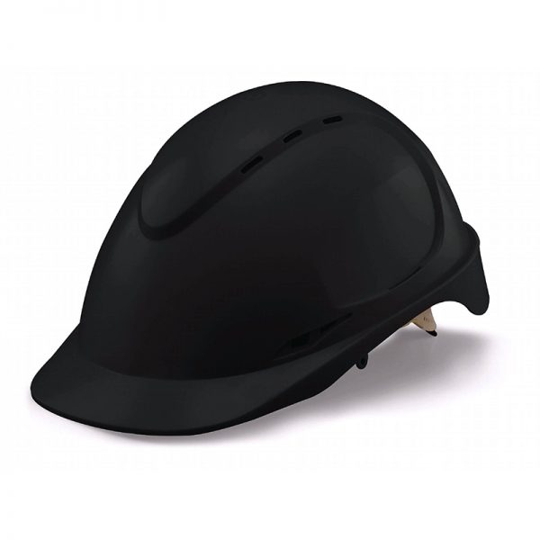MEP Hire Black Helmet