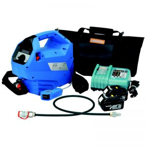 MEP Hire Battery Cable Crimp and Cut Pump 700 Bar
