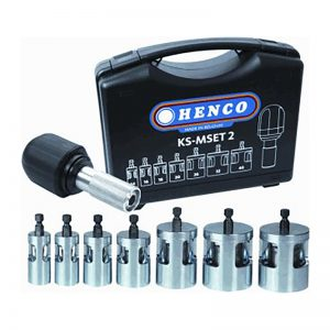 MEP Hire Henco Pipe Beveller Set