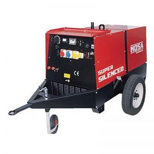MEP Hire 400amp Diesel Welder Generator