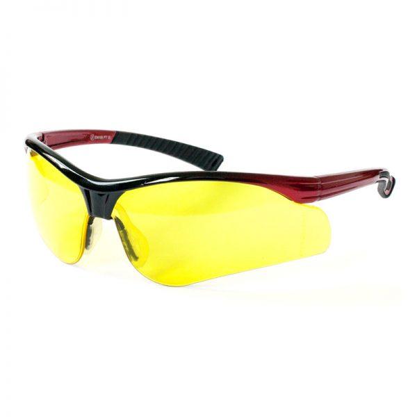 Solar Amber Lens Safety Specs
