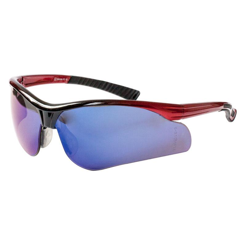 Solar Blue Mirror Lens Safety Specs