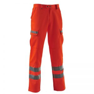 Pulsarail Hi Vis Orange Trousers
