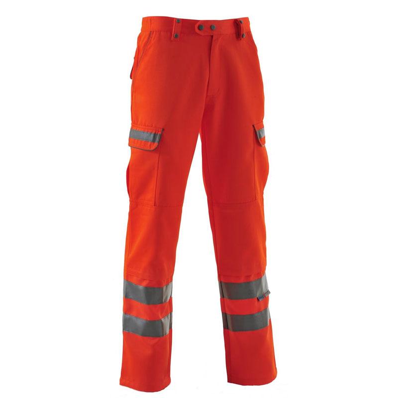 Pulsarail Hi Vis Orange Trousers