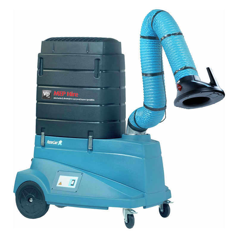 filtercart mobile fume extractor