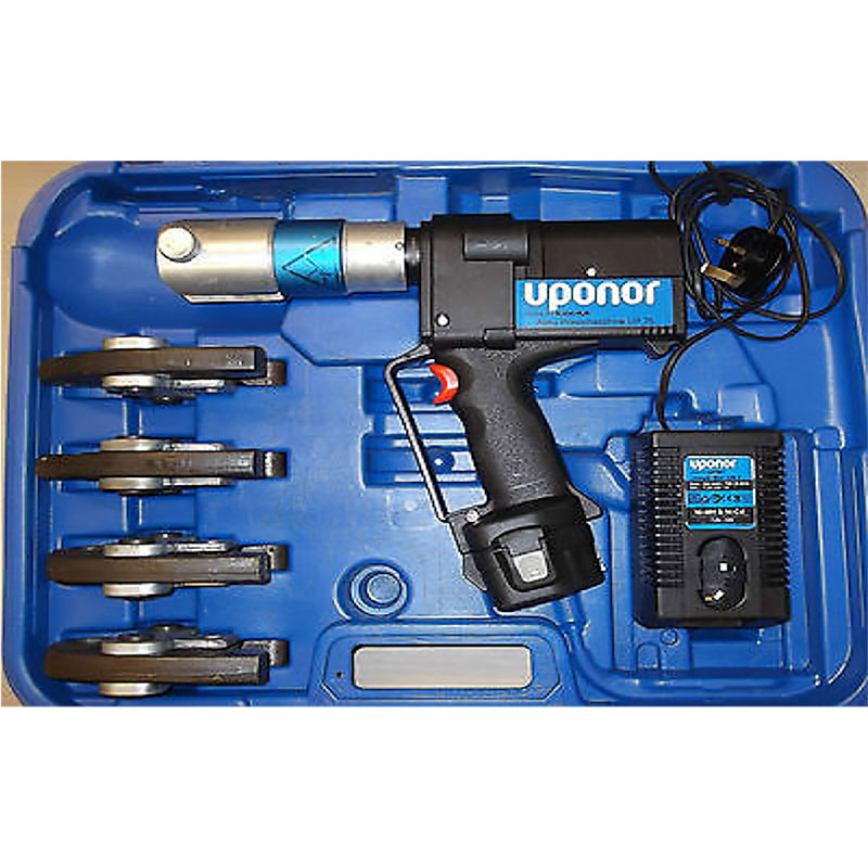 MEP Hire Uponor Battery Press Tool 16 to 32mm Jaws