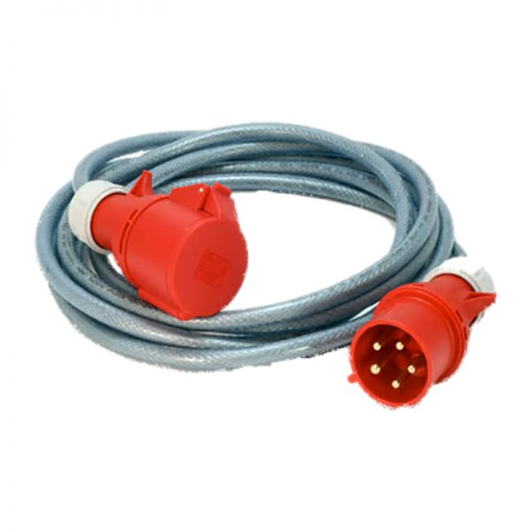 MEP Hire 415v 3 phase 5 pin welding extension lead