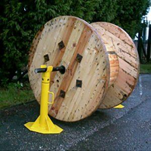 MEP Hire Cable Drum Jack SJ6