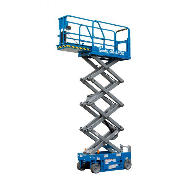MEP hire scissor lift