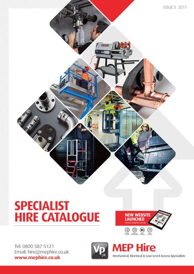 Mep Hire Catalogue